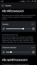 Ukázka aplikace k regulaci vytápění